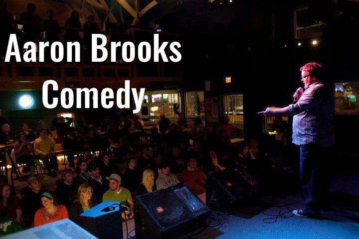 Aaron Brooks Comedy - Oversharing, Inc.